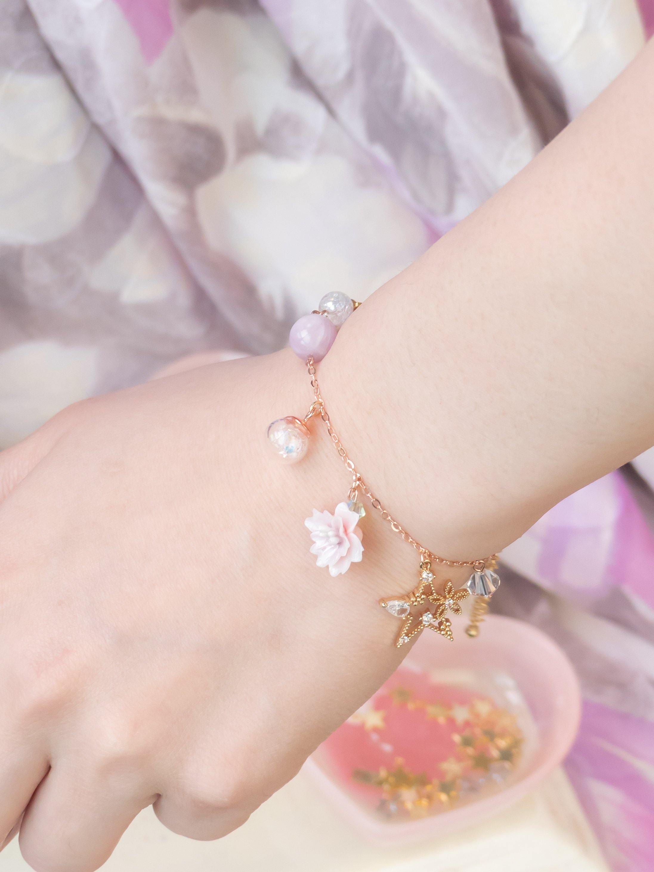 """Missing You"" Tailor-made Charm 925 Silver Bracelet"