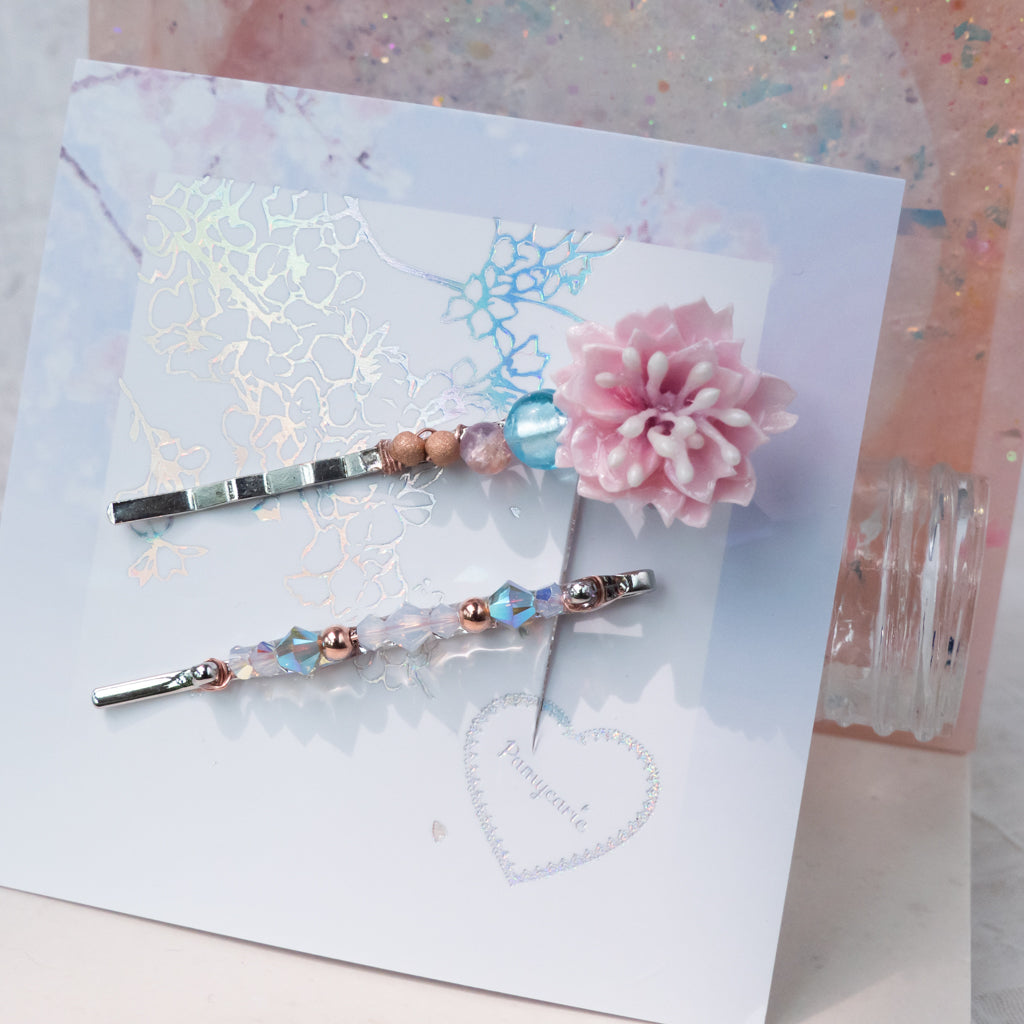③ Sakura Hair Clip Sets (10 Designs)