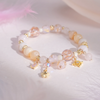 Womb of time Blossoms Agate Quartz Bracelet