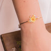 Sunshower LOCK-ME-UP Gold-plated Bangle