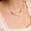 SUNSHOWER Backyard Gold-plated 925 Silver Ribbon Necklace