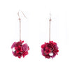 ROSY ROSIE Bouquet Rosegold-plated 925 Silver Earrings
