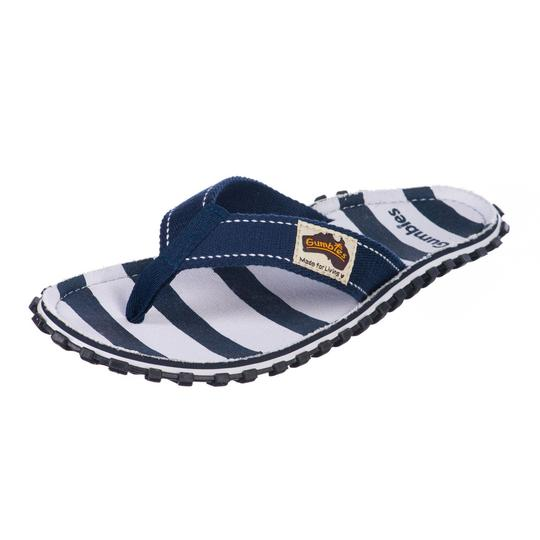 Deck Chair - Gumbies Islander canvas flip flop