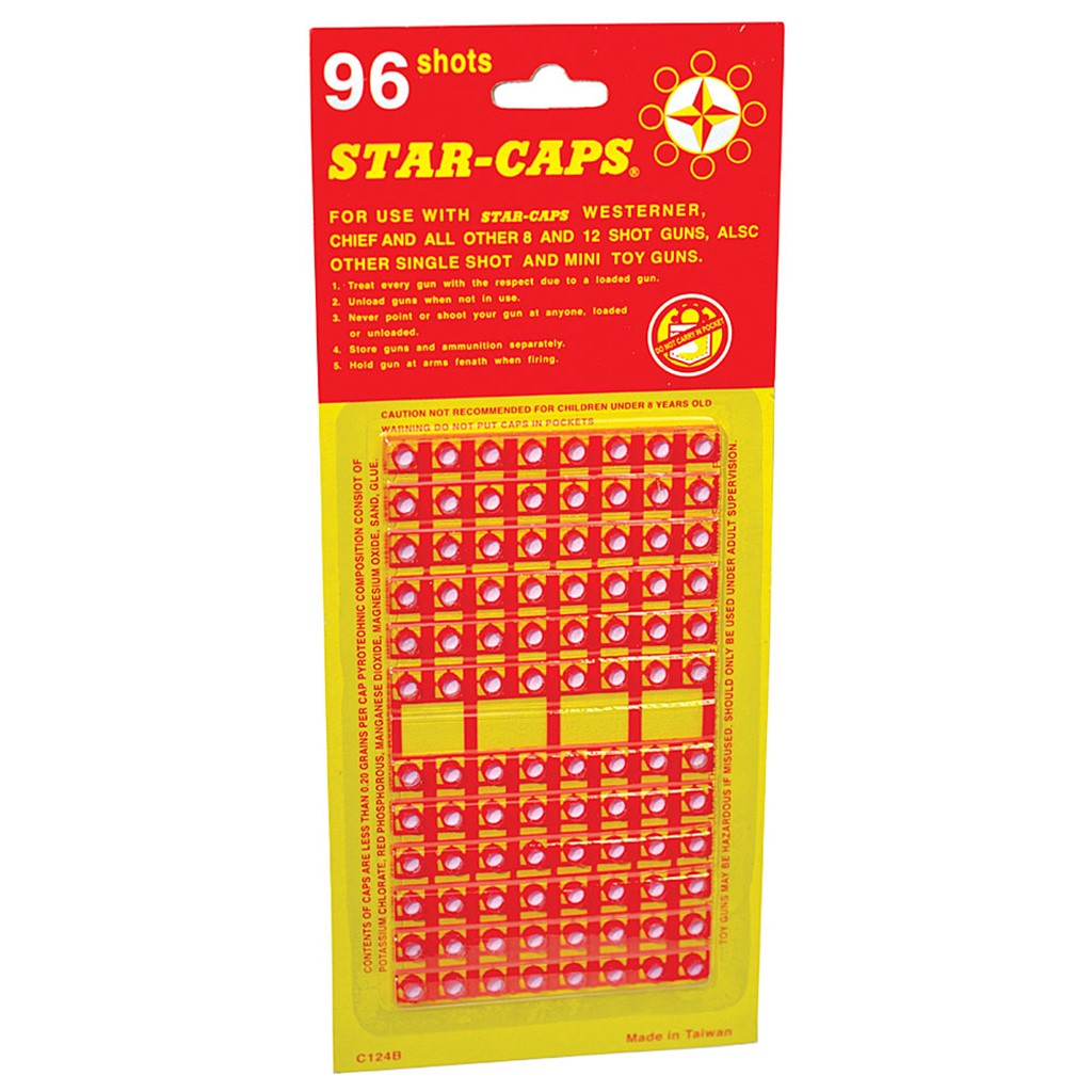 Star-Caps - 3pks