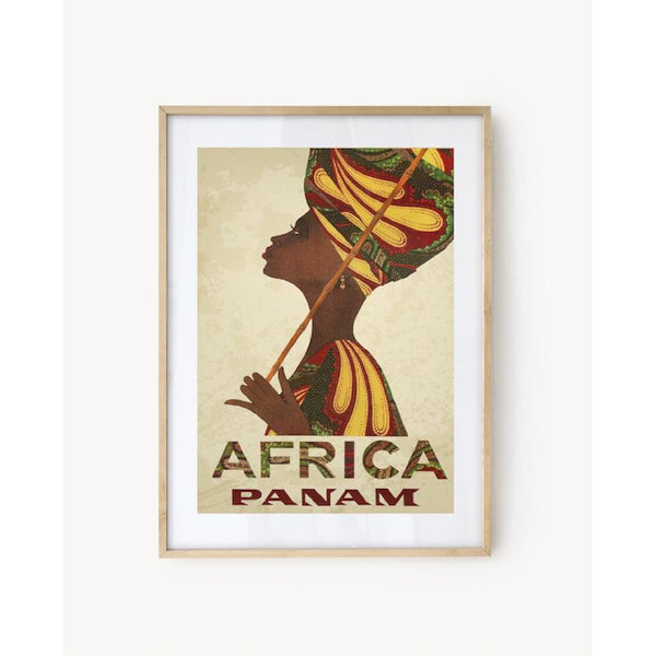 "Affiche ""Africa"" - Pan American World Airways"