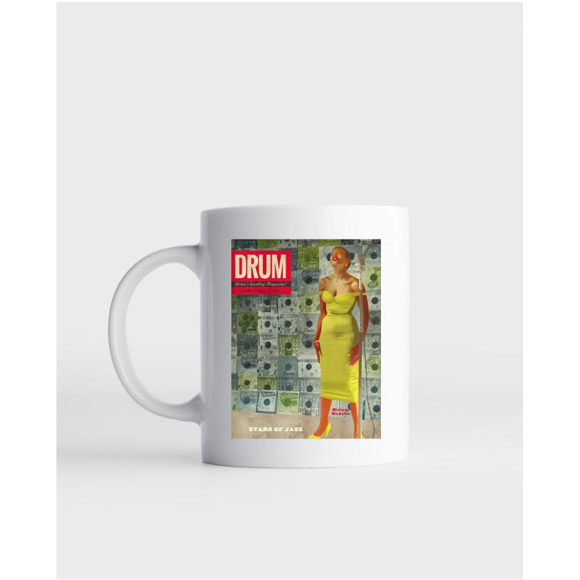 "Mug  Miriam Makeba ""Stars of Jazz"" - Couverture Drum"