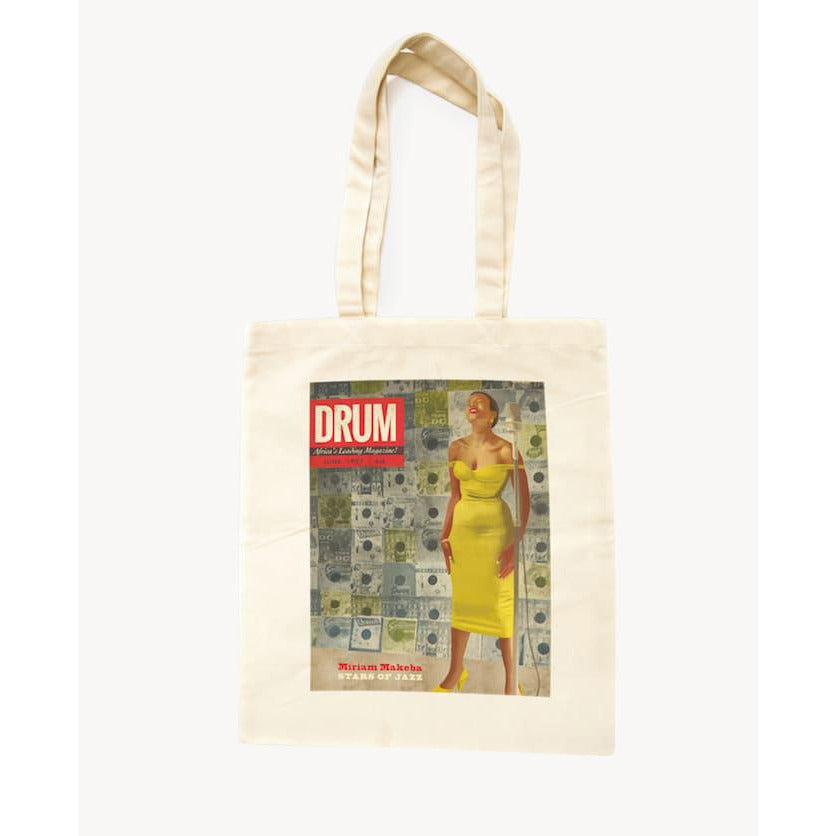 "Tote Bag Afro-Vintage ""Drum"""