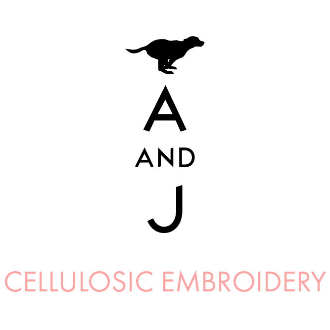 Cellulosic Embroidery