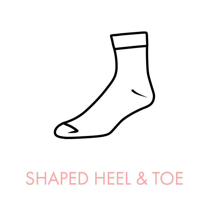 Shaped Heel & Toe