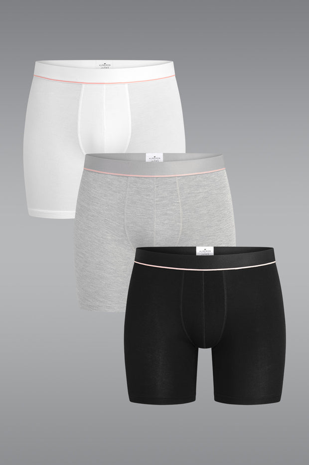 MicroModal Boxer Trunk 3 Pack