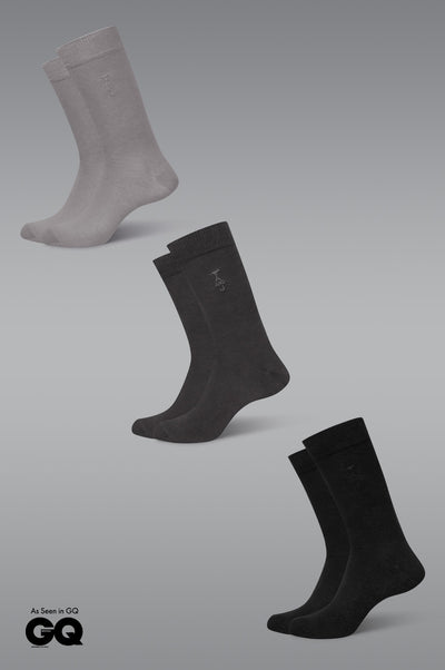 Organic Cotton Socks - Summer Weight 3 Pack