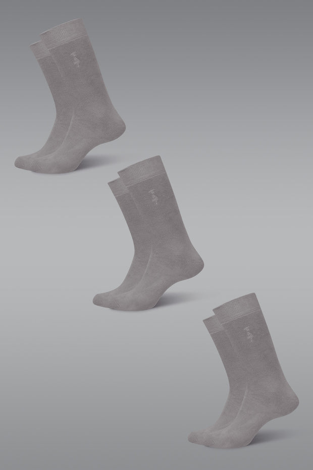 Organic Cotton Socks - Winter Weight 3 Pack