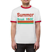 Load image into Gallery viewer, Summer Break Mode Unisex Ringer Tee
