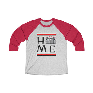 Home Tri-Blend 3/4 Raglan Tee - Light