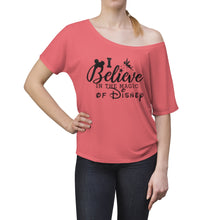 Load image into Gallery viewer, Disney Magic Women's Slouchy top