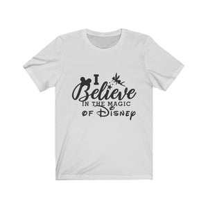 Believe in Disney Magic Unisex Jersey Short Sleeve Tee