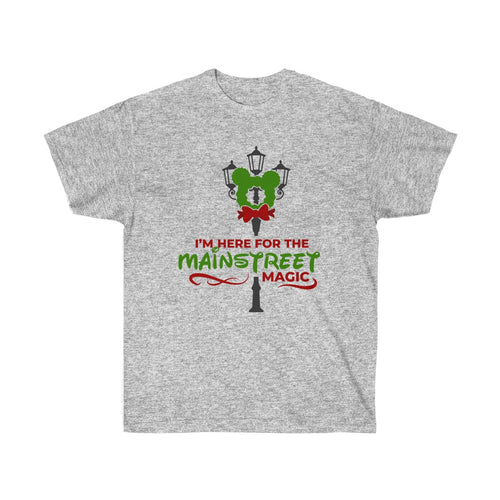 Mainstree Magic Unisex Ultra Cotton Tee - Double-Sided