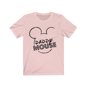 Daddy Mouse Unisex Jersey Short Sleeve Tee
