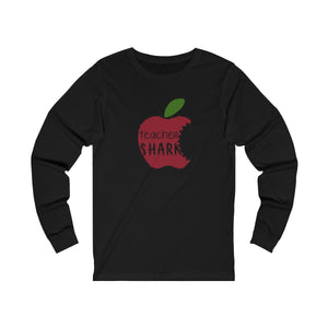 Teacher Shark Unisex Jersey Long Sleeve Tee