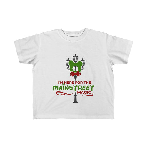 Mainstreet Magic Toddler Fine Jersey Tee - Double Sided