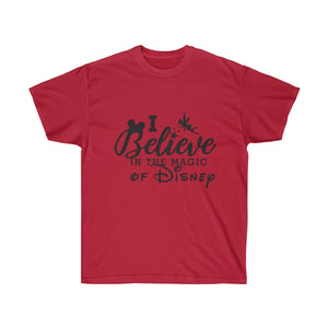 Believe in Disney Magic Unisex Ultra Cotton Tee