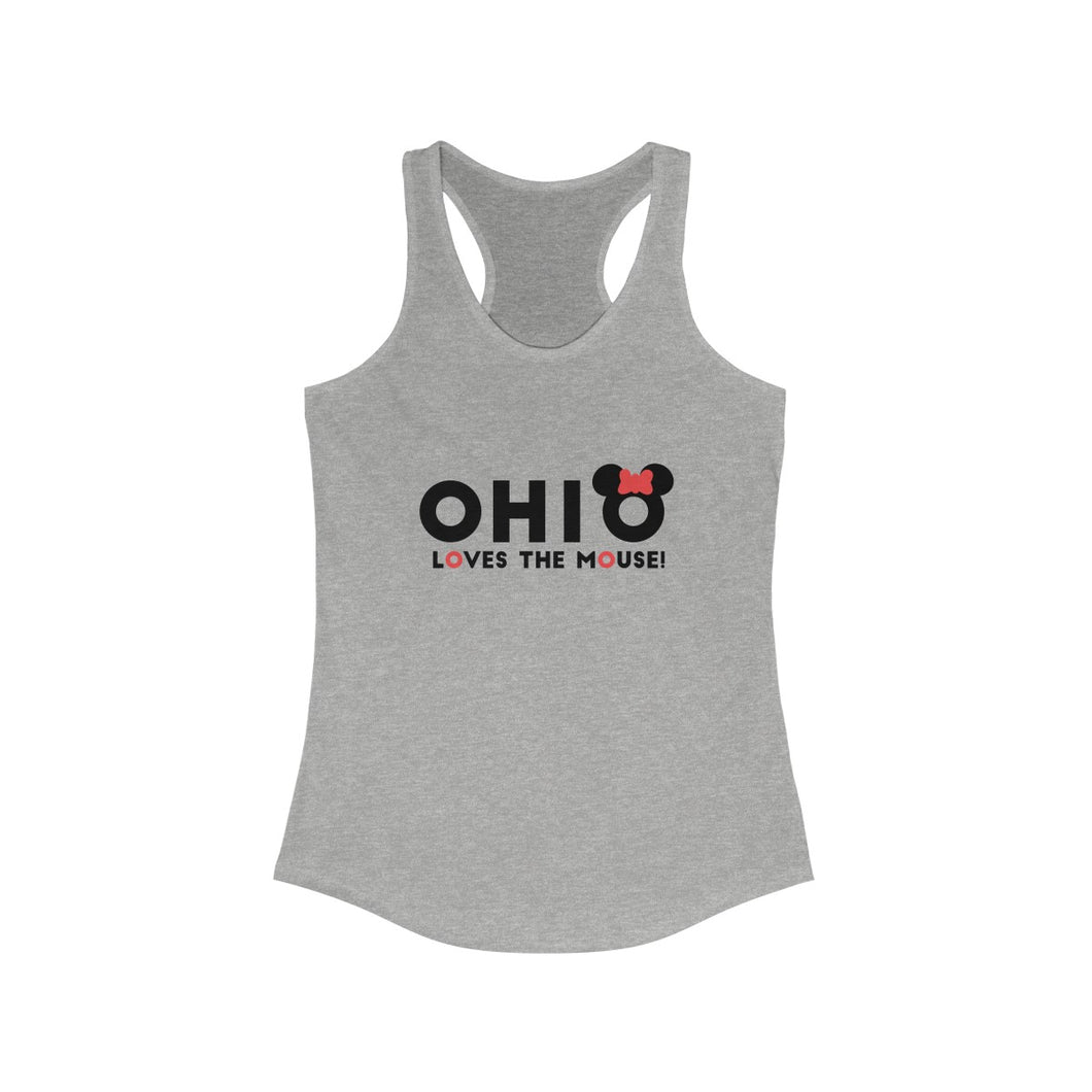 Ohio Loves The Mouse Ideal Racerback Tank