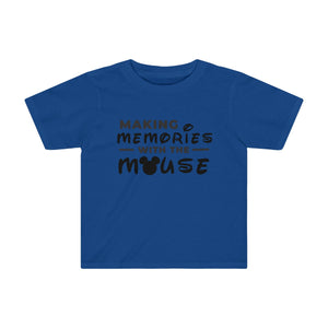 Memories With The Mouse Toddler Kids Tee