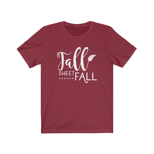 Fall Sweet Fall Unisex Jersey Short Sleeve Tee
