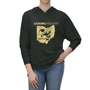 Licking Heights South Tri-Blend Raglan Hoodie