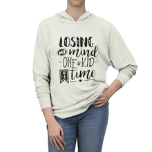 Load image into Gallery viewer, Losing My Mind Tri-Blend Raglan Hoodie