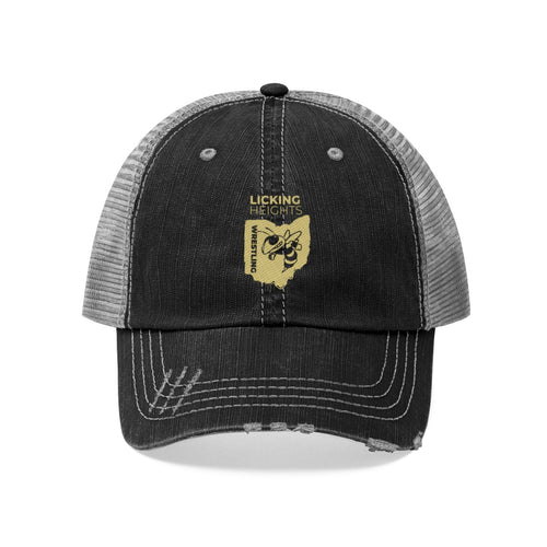 Licking Heights Wrestling Unisex Trucker Hat