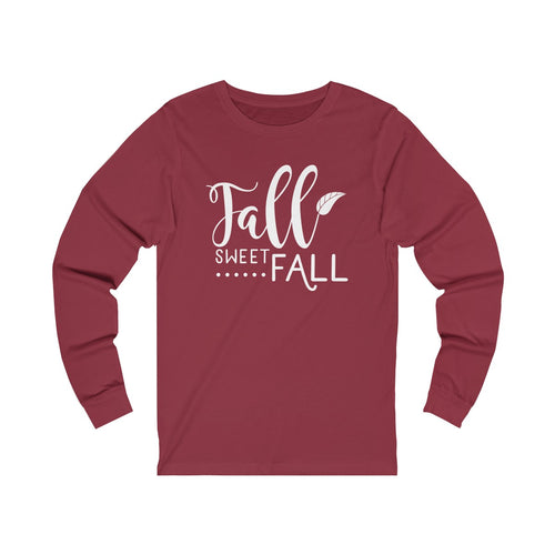 Fall Sweet Fall Jersey Long Sleeve Tee