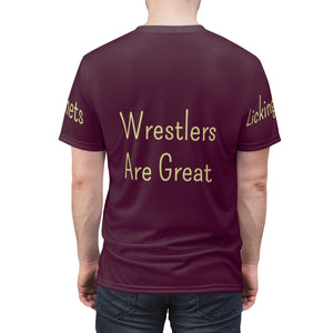 Licking Heights Wrestling Unisex AOP Cut & Sew Tee