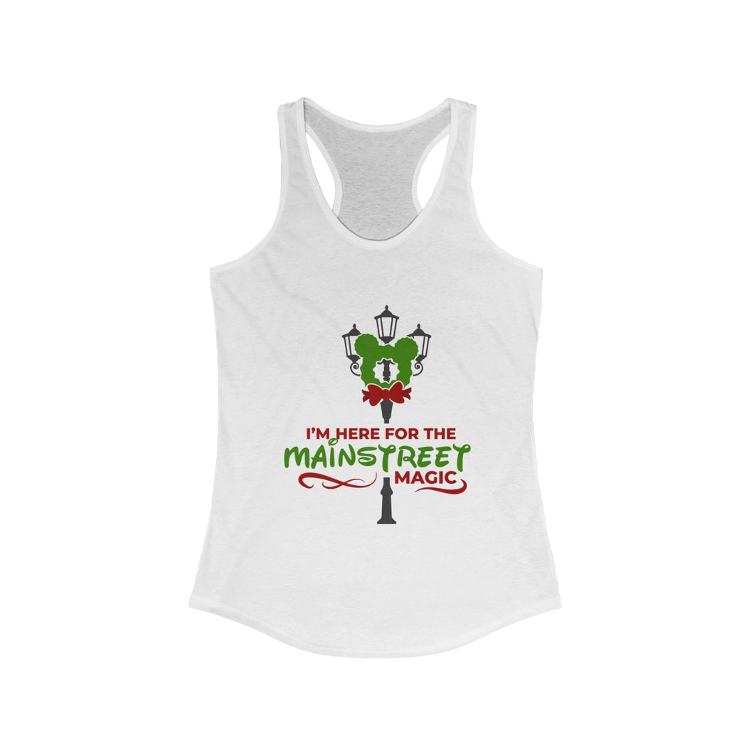 Mainstreet Magic Women's Ideal Racerback Tank - Double Sided