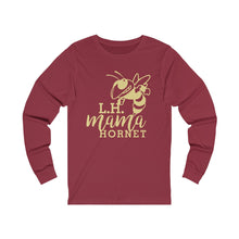 Load image into Gallery viewer, Licking Heights Mama Hornet Unisex Jersey Long Sleeve Tee