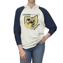 Load image into Gallery viewer, Licking Heights South Tri-Blend Raglan Hoodie