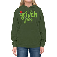 Load image into Gallery viewer, Resting Grinch Face Unisex Lightweight Hoodie