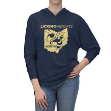 Load image into Gallery viewer, Licking Heights North Tri-Blend Raglan Hoodie