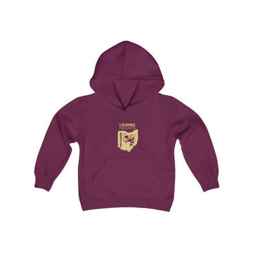 LH WresYouth Heavy Blend Hooded Sweatshirt