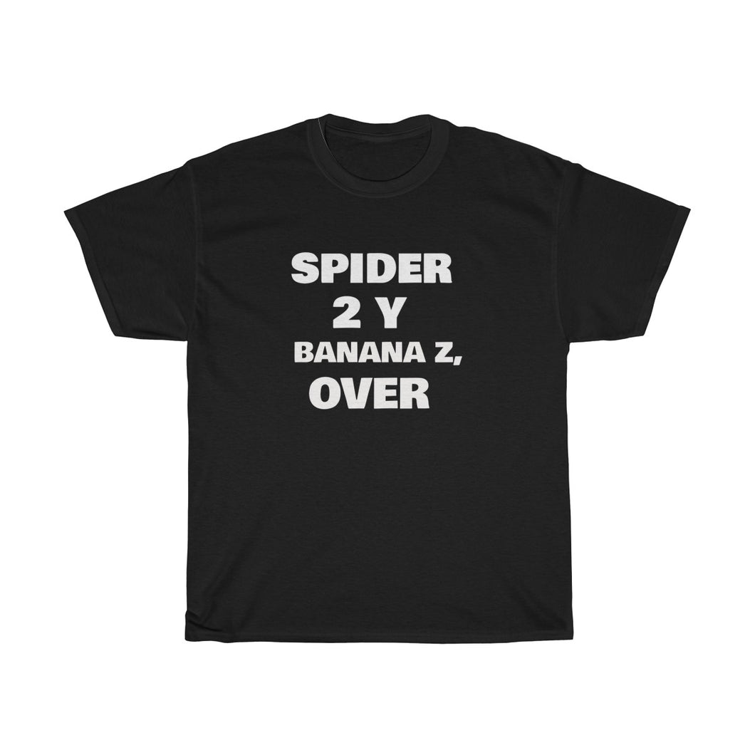 Spider 2 Y Unisex Heavy Cotton Tee