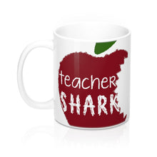 Load image into Gallery viewer, Teacher Shark Mug 11oz