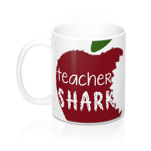 Teacher Shark Mug 11oz