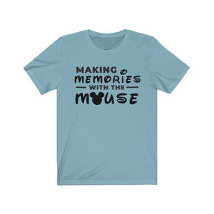 Memories With The Mouse Unisex Jersey Short Sleeve Tee