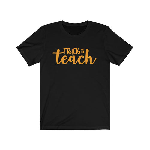Trick or Teach Unisex Jersey Short Sleeve Tee