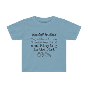 Baseball Brother Toddler Kids Tee
