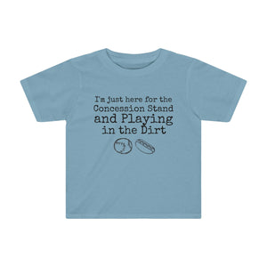 Concession Stand and Dirt Toddler Kids Tee