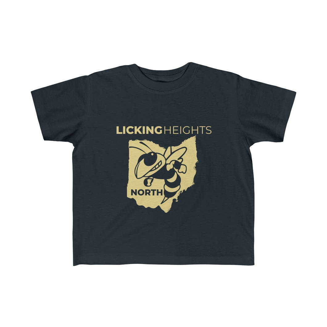 Licking Heights North Toddler Fine Jersey Tee - Dark