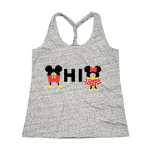 Load image into Gallery viewer, Ohio Loves The Mouse Cosmic Twist Back Tank Top