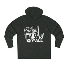 Load image into Gallery viewer, Football Friday  Tri-Blend Raglan Hoodie