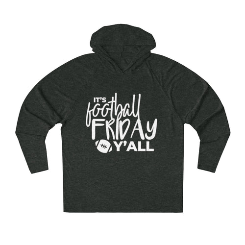 Football Friday  Tri-Blend Raglan Hoodie
